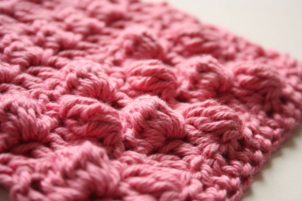 Crocheting Clusters : Crochet Corner: Cluster Stitch (cl)