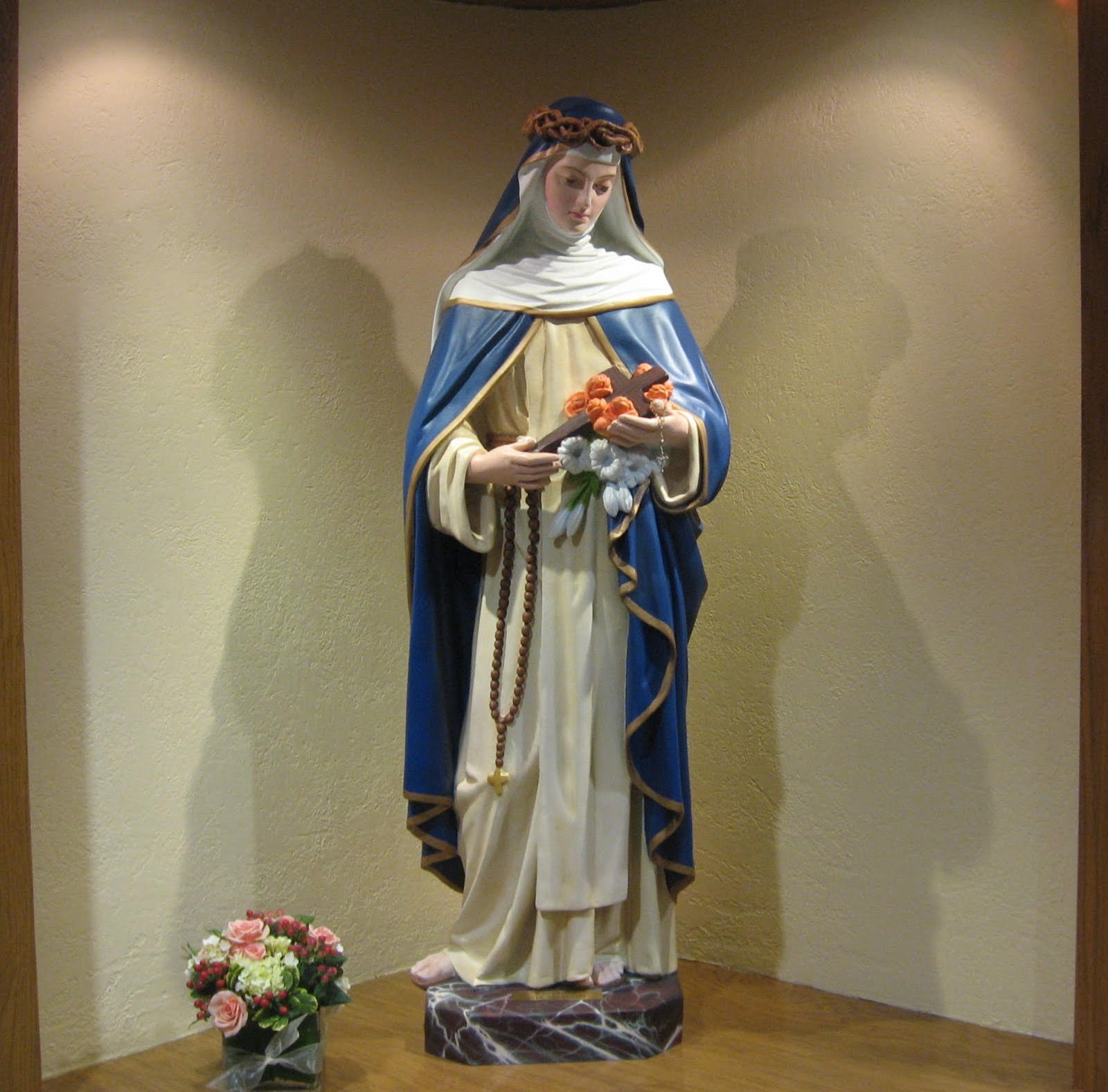 saint rose August 23 a member of the third order of saint dominic, saint rose of lima lived a life of penance and holiness at home under the disapproving eyes of her pare.