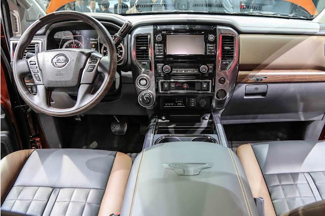 2017 Nissan Titan XD Interior