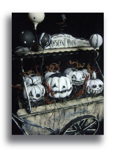 Ghostly Gourd Cart