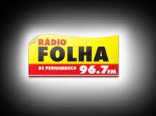ouvir a Rádio Folha FM 96,7 Recife PE
