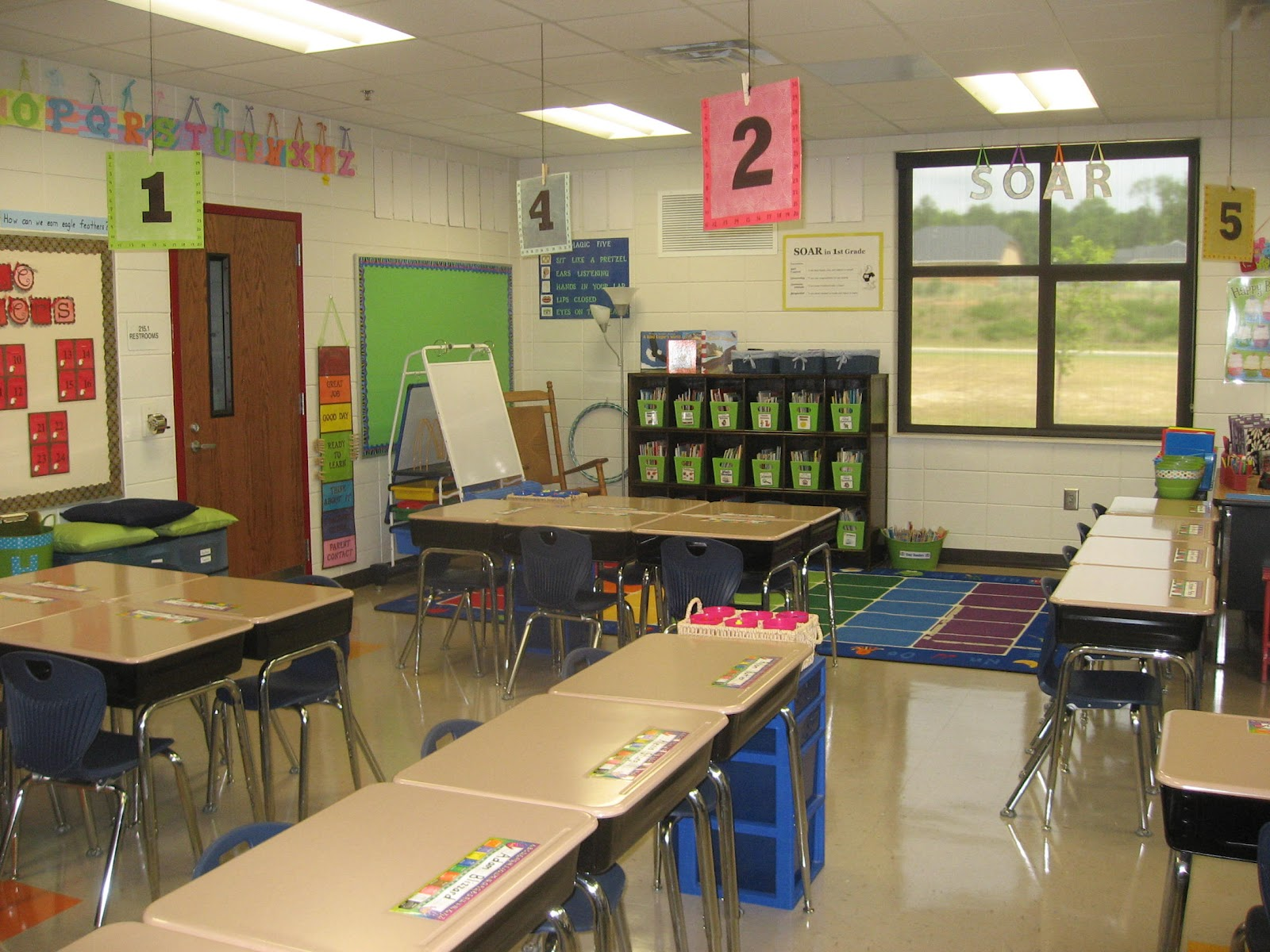 Classroom Setup Ideas ~ Simply sweet teaching classroom tour and setup tips
