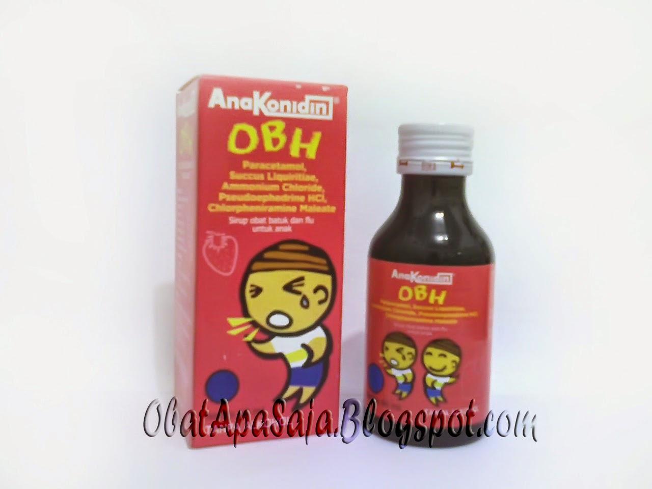 AnaKonidin OBH Sirup Obat Batuk Plus Flu untuk Anak