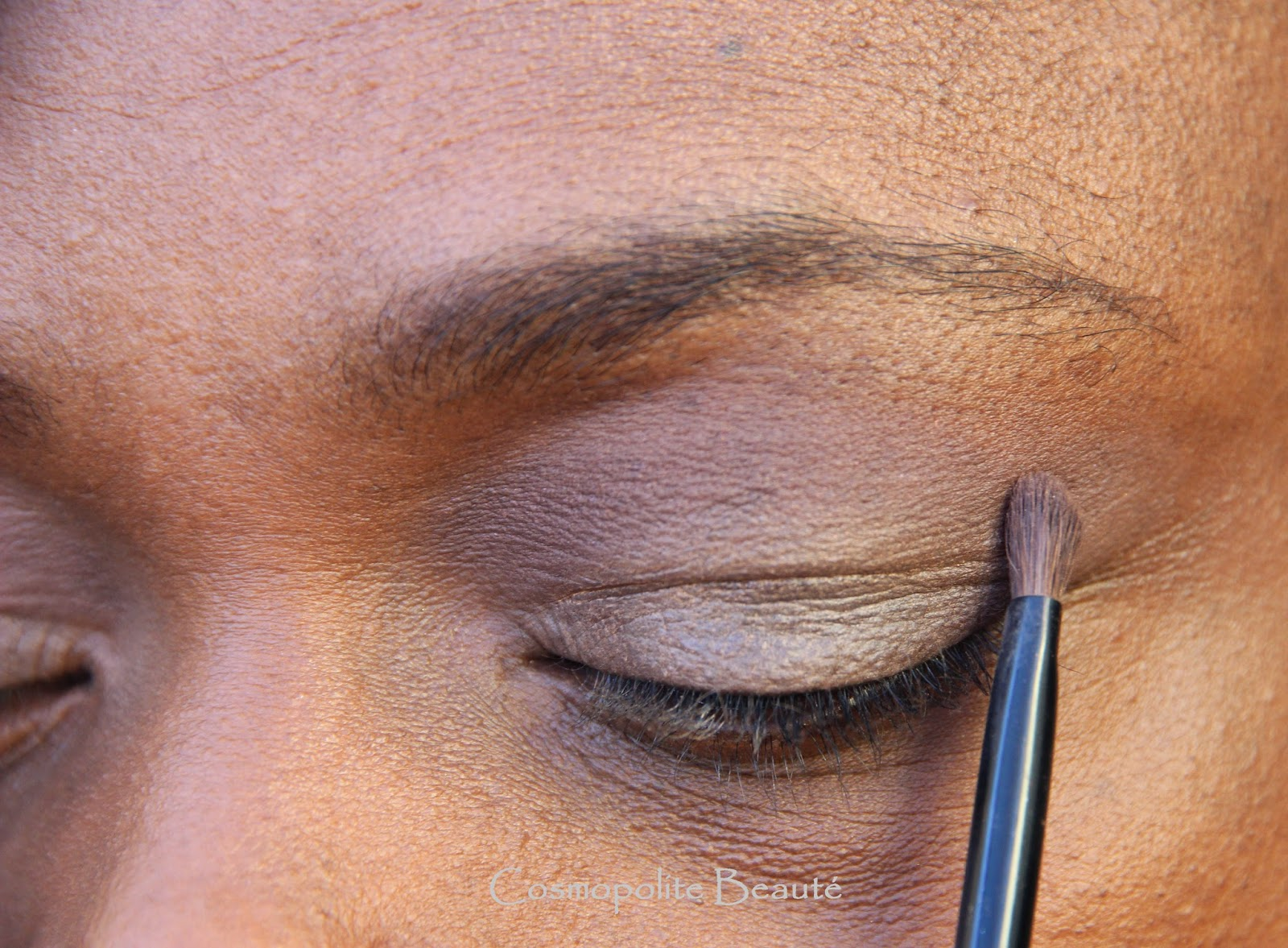tuto, tutoriel make up, maquillage, L'Oréal, palette, yeux, fards à paupières, nude