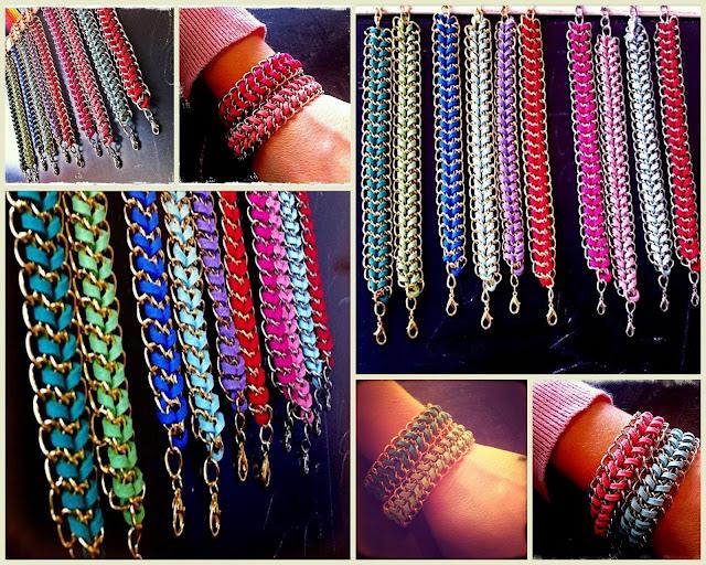 Happy Uky pulseras colores