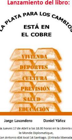 LA PLATA DE LOS CAMBIOS ESTÁ EN EL COBRE