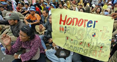 Rencana Pengangkatan Honorer K2 Belum Jelas, Karena Anggaran