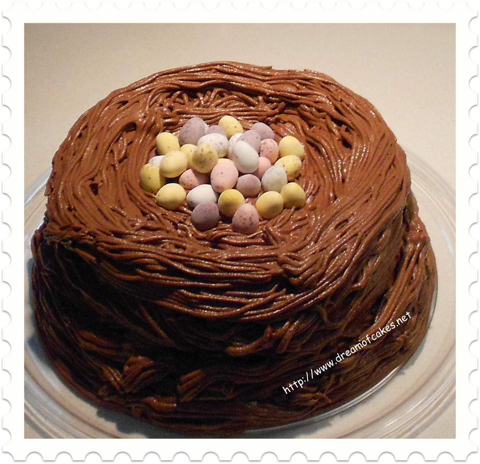 Chocolate Easter Cake Images : Dream of Cakes: Easter Chocolate Nest