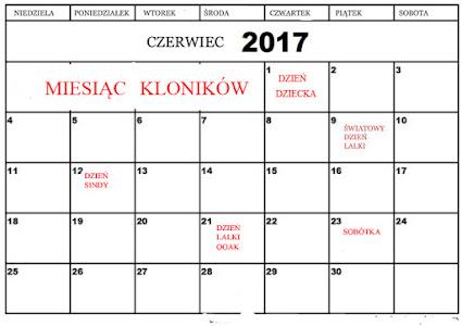 Kalendarz lalkowy 2017