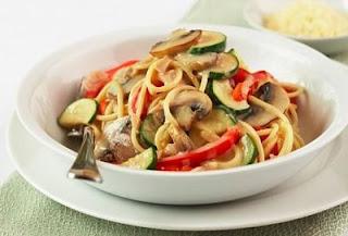 """<img src=""""vegetales-con-espaguetis.jpg"""" alt=""""puedes utilizar pasta integral para preparar esta receta"""">"""