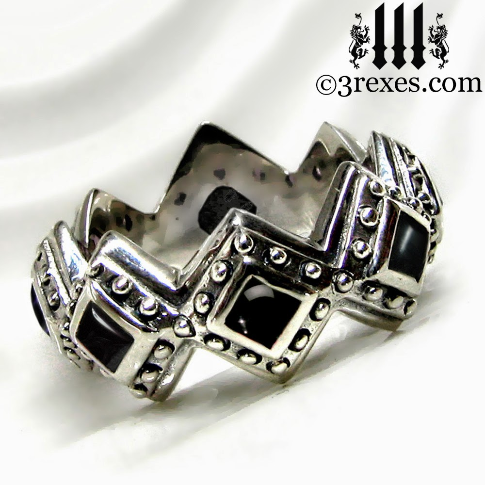 popular dress style for renaissance inspired rings vintage wedding silver engagement amazing intended design
