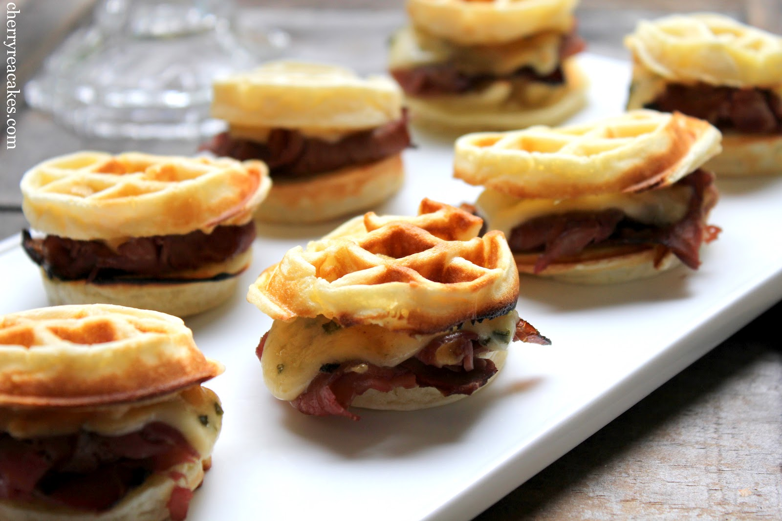 Cherry Tea Cakes: Kitchenless Cooking & Savory Waffles!