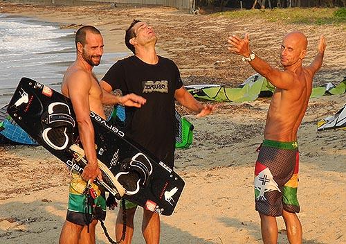 My Roatan - Adventures in Creating Nirvana: kitesurfing