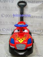 Ride-On Car SHP RTC 612 dengan Musik dan Tongkat Dorong