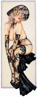 Dibujos Sexis Chicas Rubias A Color