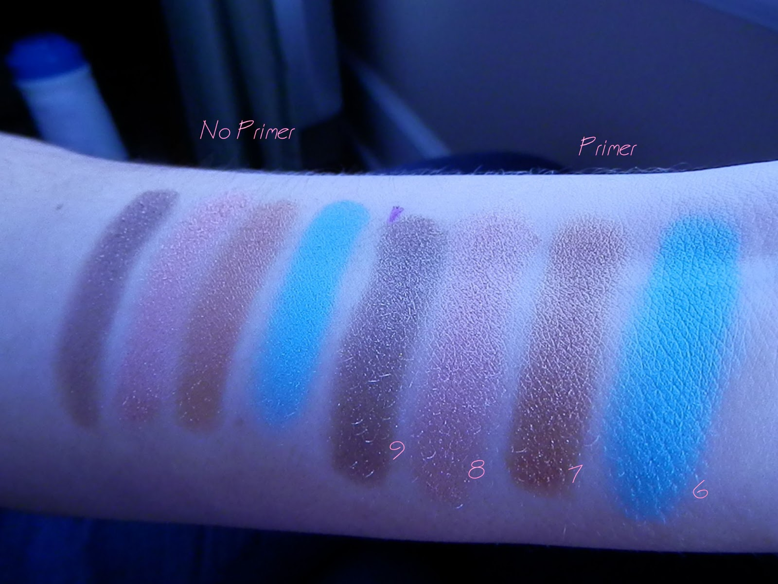 Deluxe Shadow Box Swatch
