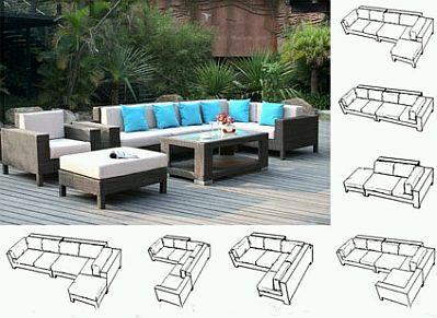 Muebles para jard n decoraci n de exteriores for Sillones para exteriores precios
