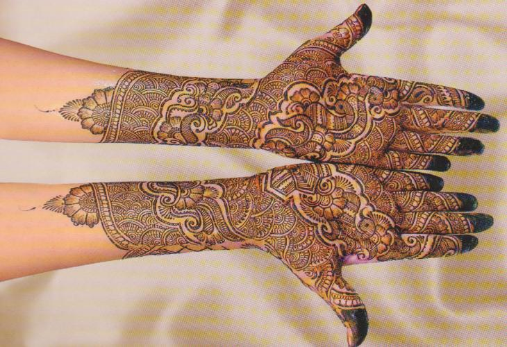 Mehndi Hand Name : Career as a mehndi artist