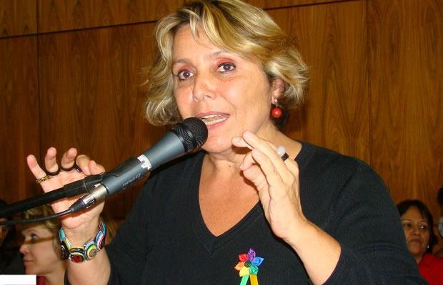 """Érika Kokay defende abrir espaço na audiência para a manifestação """"de todas as correntes de pensamento"""" (Foto: Hernanny Queiroz/Gay1)"""