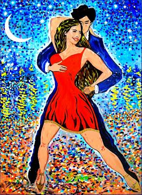 Salsa sota un mantell d'estrelles amb reflexos de Van Gogh (Toni Arencón i Arias)