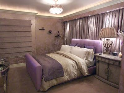 Cómo Decorar una Habitación con color Purpura - Lila - Morado ...