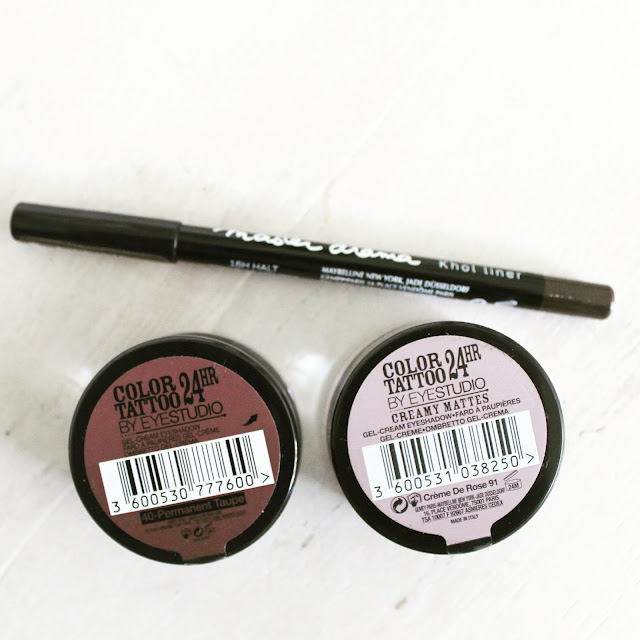 Instagram Catch Up Sunday Maybelline 24 Hour Color Tattoo Shadow Eyeliner Makeup Review