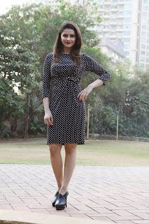 Actress Prachi Desai Picture Gallery in Short Dress at CCIL New Year Eve Announcement  12.jpg