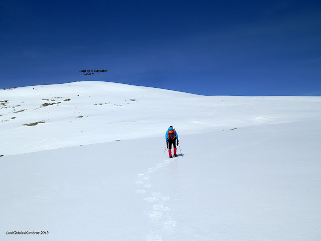 Cerro Cagarruta, Sierra de Gredos