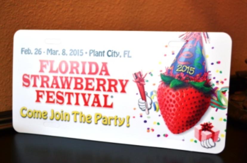 Strawberry Festival shortcake