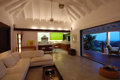 diseño sala moderna y elegante