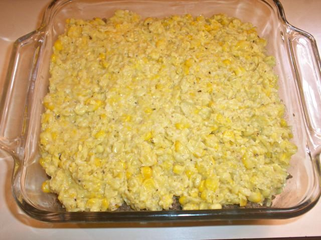 Corn Pie Ready to Bake