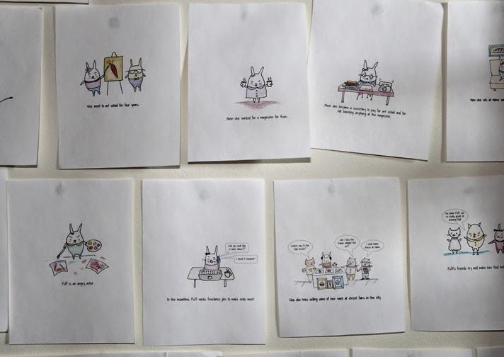 Children's Book Process - Lady Lucas
