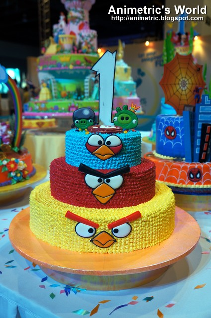 Goldilocks Cake Deco Expo 4 Animetric S World