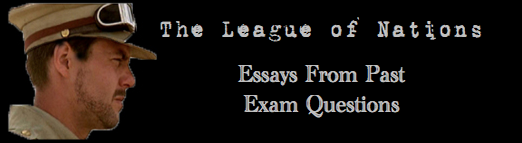 ghost of the league of nations essay