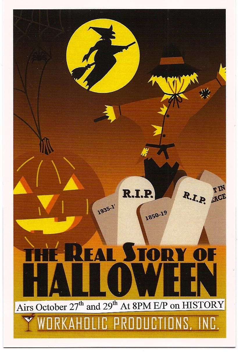 christmas tv history: the real story of halloween