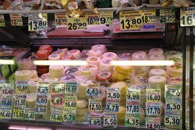 Puesto en el mercado El Fontán. Oviedo. Blog Esteban Capdevila