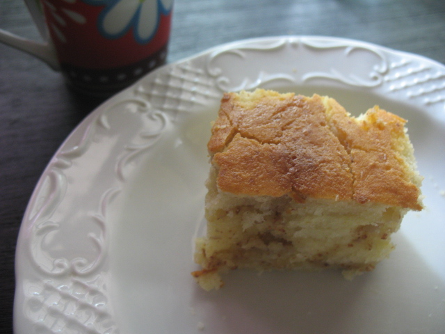 this morning s breakfast was buttermilk frangipane cake made with ...