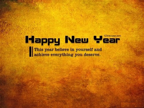 Best Happy New Year For Wallpaper With Quotes 2015