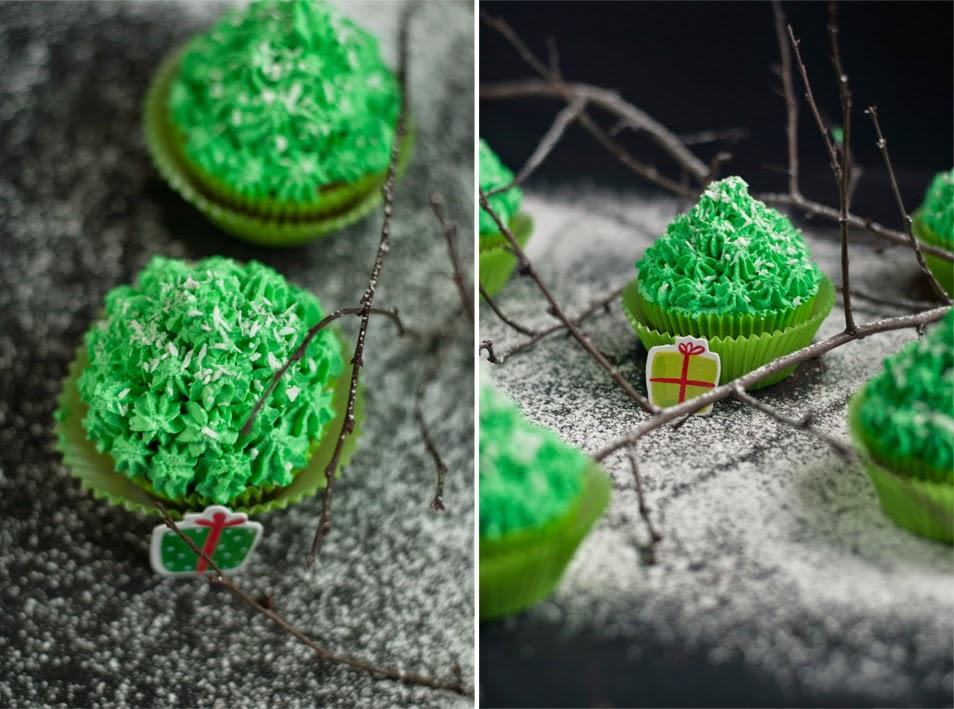 Świąteczne muffinki z kremem