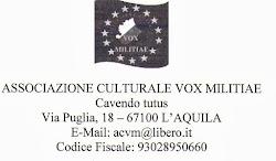Una Associazione a l'Aquila
