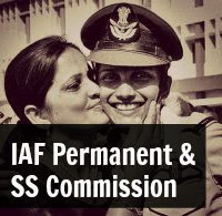 iaf permanent and short service commission