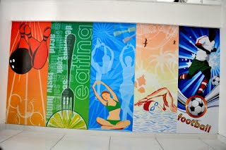 Commercial Interior Wall Graphic