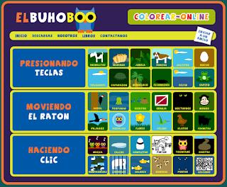 EL búho Boo - Actividades de iniciación a la informática sobre animales