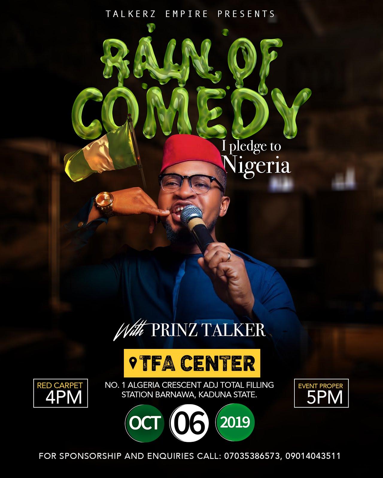 Rain of Comedy