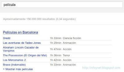 google-cartelera-de-cine