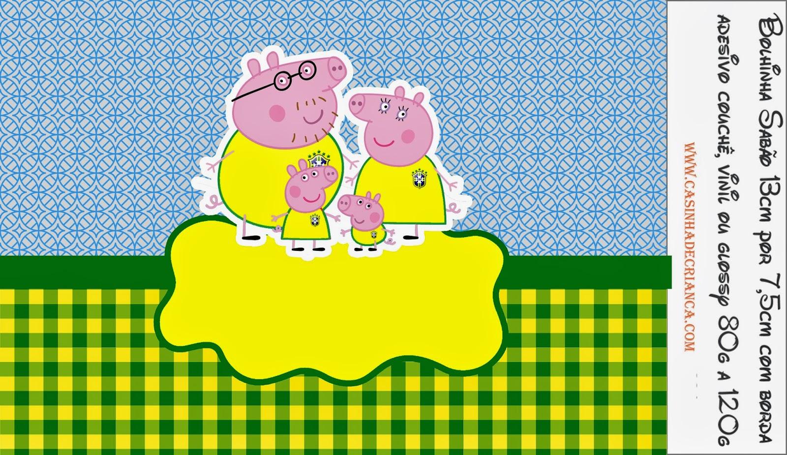 Kit Festa Peppa Pig na Copa Para Imprimir Grátis