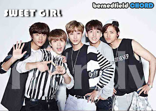 B1A4 - Sweet Girl Chords and Lyrics