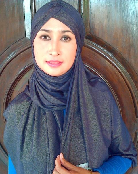 Pashmina glitter + turban