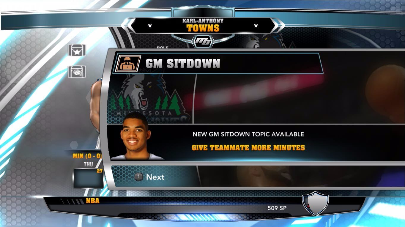 NBA 2k14 MyCareer Mod : Karl-Anthony Towns - hoopsvilla