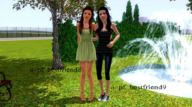 My Sims 3 Poses: Best Friends Forever ♥ by Rae